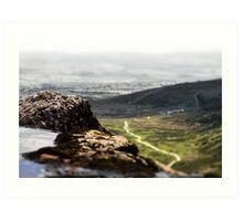 Mahon Falls (view 2) Art Print