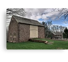Amity Barn - NE Pennsylvania Canvas Print