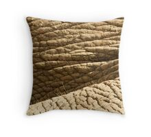 Elephant Skin Throw Pillow