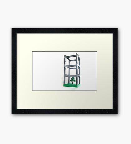 Park-ing facility Framed Print