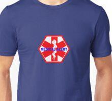 Medical alert ID tag 1 Unisex T-Shirt