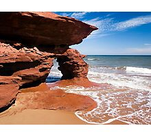 Red Rock Arch, Prince Edward Island, Canada Photographic Print