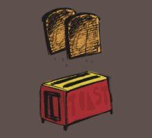 You are toast! by David Barneda