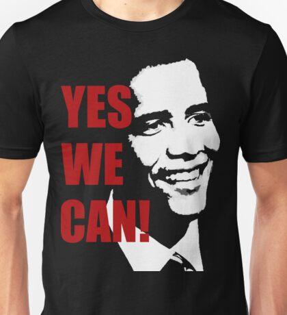 Yes We Can Obama  Unisex T-Shirt