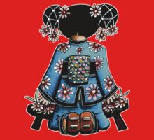 Asia Blue Doll (large design) Kids Clothes
