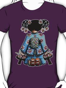 Asia Blue Doll (large design) T-Shirt