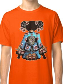 Asia Blue Doll (large design) Classic T-Shirt