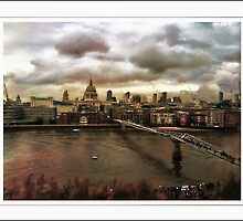 Skyline of City of London  by scotts03