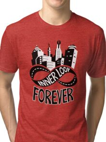 Inner Loop Forever (Black & White) Tri-blend T-Shirt