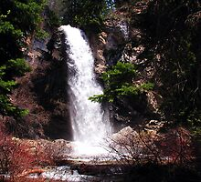 ~ Hanging Lake Waterfall ~ by Brion Marcum