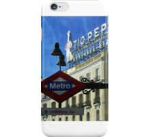 Puerta del Sol iPhone Case/Skin
