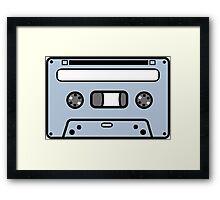 COMPACT CASETTE TAPE  Framed Print