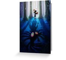 The Legend of Zelda Majora's Mask 3D Artwork #1 Greeting Card