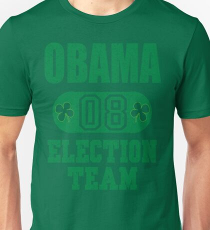 Obama Election Team 08 Unisex T-Shirt