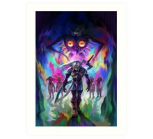The Legend of Zelda Majora's Mask 3D Artwork #2 Art Print