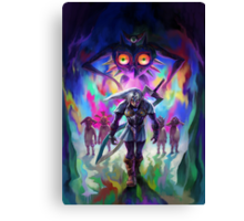 The Legend of Zelda Majora's Mask 3D Artwork #2 Canvas Print