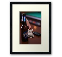 Table Top Goodies Framed Print