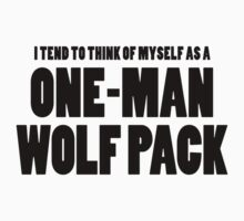 The Hangover - One-Man Wolf Pack by scatman