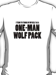 The Hangover - One-Man Wolf Pack T-Shirt