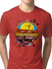 Archaeology Tri-blend T-Shirt