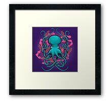 Octupus & Coral Framed Print