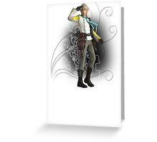Final Fantasy XIII-2 - Hope Estheim Greeting Card