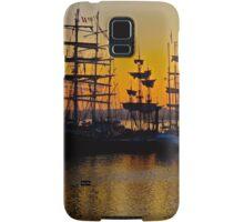 Tall ships at Greenwich Samsung Galaxy Case/Skin