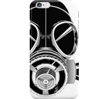 A Gassy Gas Mask iPhone Case/Skin