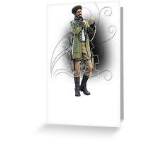 Fantasy XIII-2 - Sazh Katzroy Greeting Card