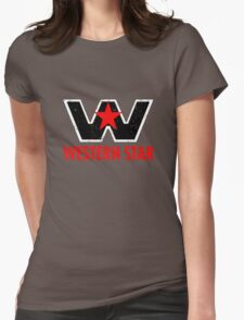 Western Star Truck Womens Fitted T-Shirt