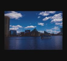 Baltimore Inner Harbor  One Piece - Short Sleeve