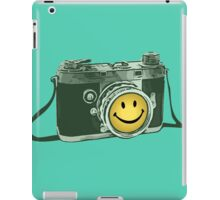 Smiley camera iPad Case/Skin