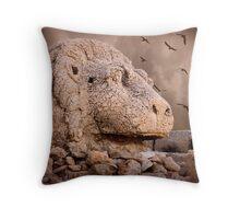 Lion of Mt Nemrut Throw Pillow