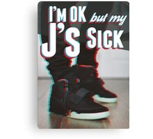 J's Sick Canvas Print