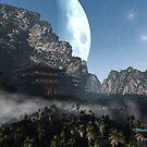 Mountain Moon II by Steve Davis