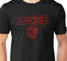 ZOMBIE - red Unisex T-Shirt
