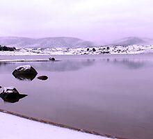 Snowy Lake Jindabyne by shutterpixel