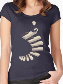 Endless tune Women's Fitted Scoop T-Shirt