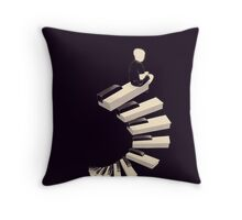 Endless tune Throw Pillow