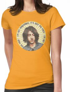 Alex Turner - I'm Not Miserable  Womens Fitted T-Shirt