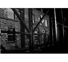 DERELICT BUILDING IN PORTSTEWART Photographic Print