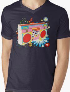 Boombox - Summertime Mens V-Neck T-Shirt