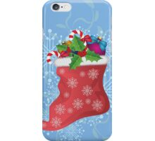 Christmas sock 2 iPhone Case/Skin