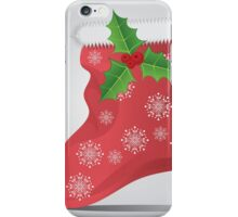 Christmas sock 3 iPhone Case/Skin