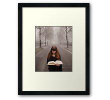 The book of fantasy Framed Print