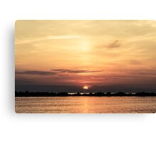 Another Earth - Sunrise on the sea  Canvas Print
