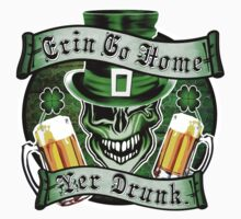 Leprechaun Skull 2: Erin Go Home Yer Drunk 2 One Piece - Long Sleeve