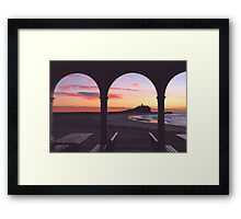 Dawn at Nobby's Beach Framed Print
