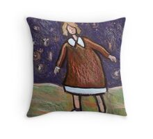 The Fairy Dance Throw Pillow