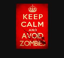Keep Calm and Avoid Zombies Unisex T-Shirt